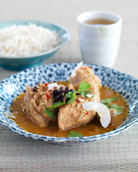 Aromatic Chicken Curry with Coconut Cream