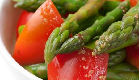 Asparagus & Red Pepper Salad