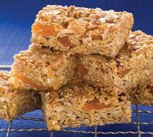 Apricot & Almond Energy Slice
